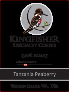 Tanzania Peaberry Café Roast